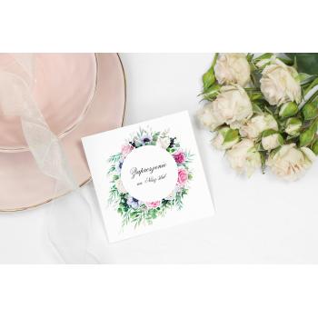 Zaproszenie na ślub 3