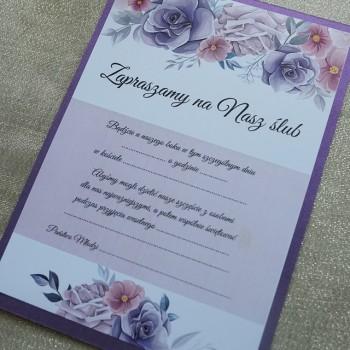 Zaproszenie na ślub 10