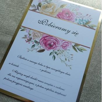 Zaproszenie na ślub 9