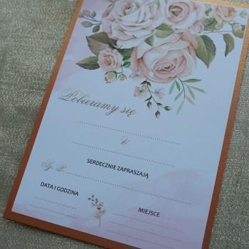 Zaproszenie na ślub 6