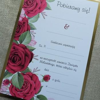 Zaproszenie na ślub 1