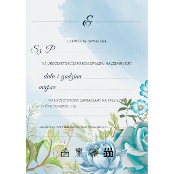 Zaproszenie na ślub 19