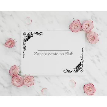 Zaproszenie na ślub 24
