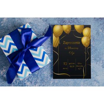 Zaproszenie na urodziny - 4
