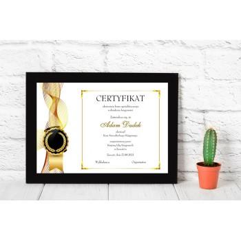 Dyplom - Certyfikat 3