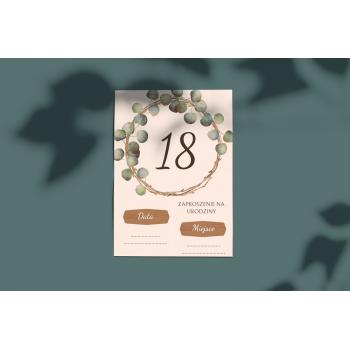 Zaproszenie na 18stkę - 1