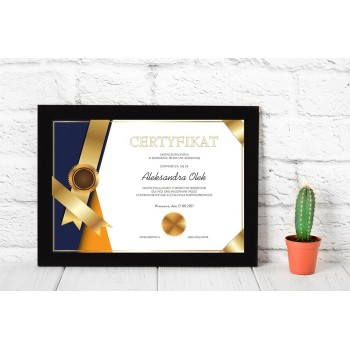Dyplom - Certyfikat 5