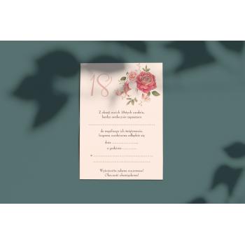 Zaproszenie na 18stkę - 4