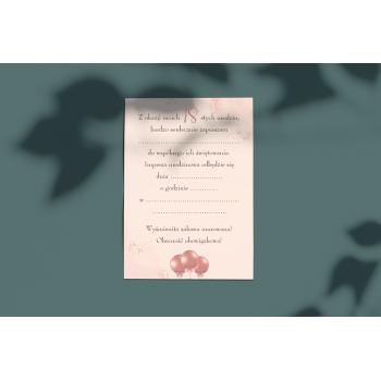Zaproszenie na 18stkę - 5