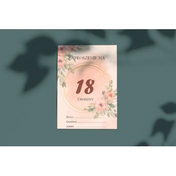 Zaproszenie na 18stkę - 12