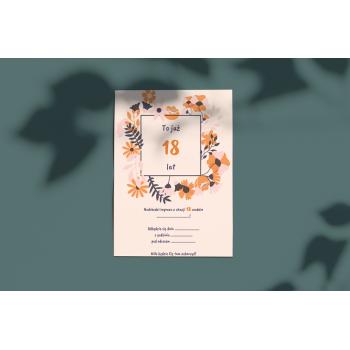 Zaproszenie na 18stkę - 19