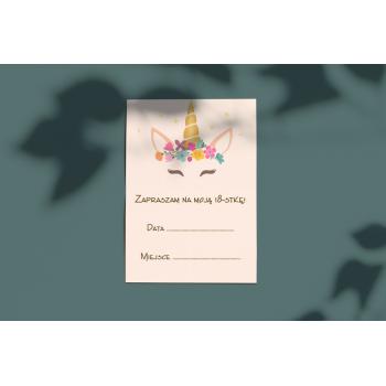 Zaproszenie na 18stkę - 21