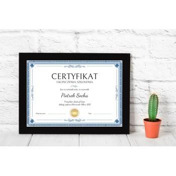 Dyplom - Certyfikat 11
