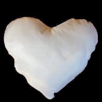 Poduszka serce z nadrukiem