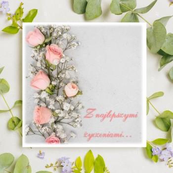 Kartka z życzeniami na ślub 1