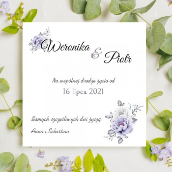 Kartka z życzeniami na ślub 2