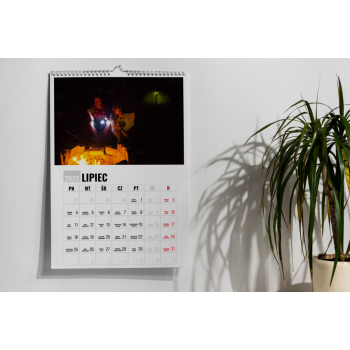 Kalendarz pionowy A3 na...