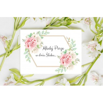 Kartka z życzeniami na ślub 5
