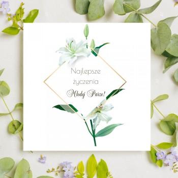 Kartka z życzeniami na ślub 15