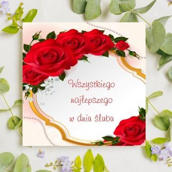 Kartka z życzeniami na ślub 22
