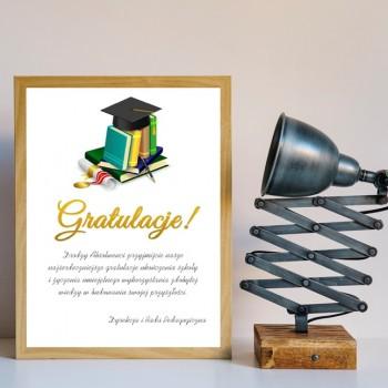 Dyplom zakończenia szkoły 3