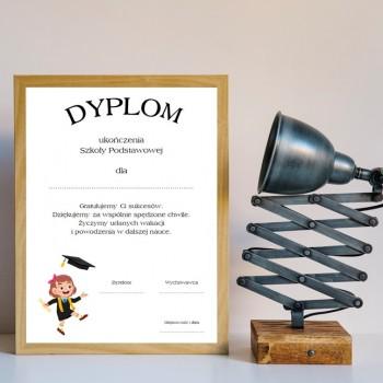 Dyplom zakończenia szkoły 6